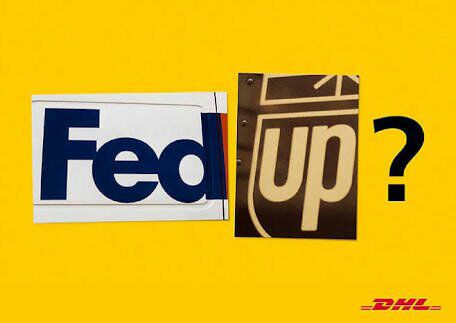 DHL-Fed up?