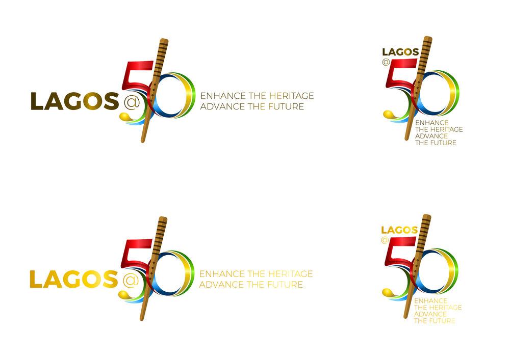 Lagos@50 logo