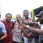 Oshodi Park stood still as Adekunle Gold, Arole, Frank Donga featured in a new movie, 'Mentally' by James Abinibi
