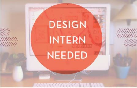 design Intern needed