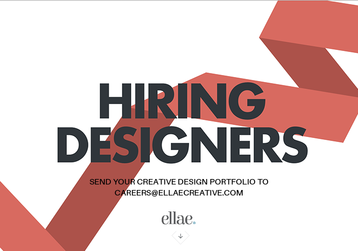 ellae creative is recruiting a designer