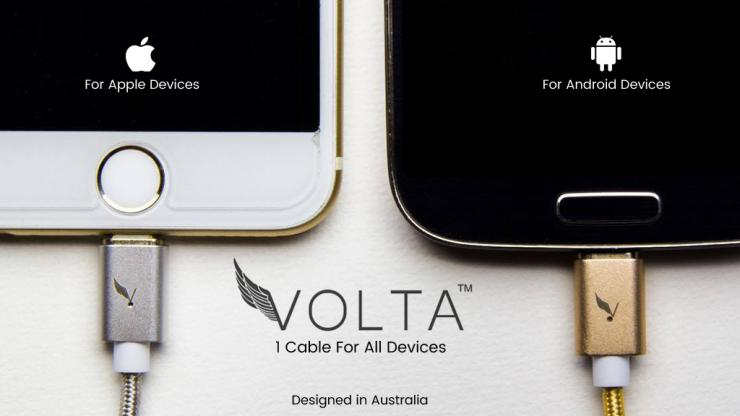 Voltacharger UI designer