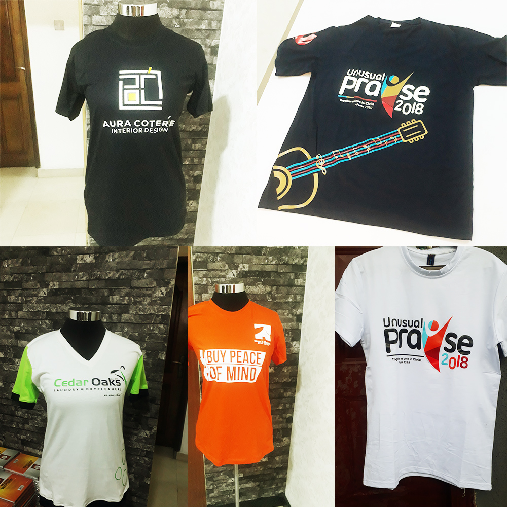 Top Quality Customized T-shirts, Polos and Hoodies